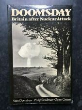Doomsday Britain After Nuclear Attack Openshaw 1983 Blackwell UK PBK edition