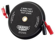 ORIGINAL DRAPER EXPERT 10FT 2 câbles Rétractable Câbles de test 64764