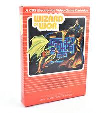 Vintage Atari 2600 Video Game - Wizard Of Wor * EX-SHOP STOCK *