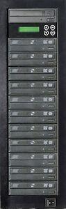 MediaStor #a35 LS 1-11 1 to 11 Target DVD Duplicator LightScribe Disc Publishing