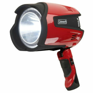 For great light when you are working it'll be clear with this Coleman Spotlight