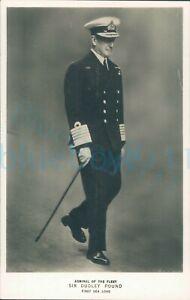 "Sir Dudley Pound Admiral of the Fleet WW2 5.5x3.5"" Real photo Tucks"