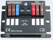 Plus Distributor,Plusdistributor 6 Votronic Nr.3203,Verteilerblock,Eing: 50 Amp