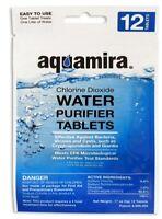 Aquamira 2oz Aqueous Water Treatment Kit or Purifier Tablets Package [Choose]