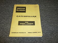 Caterpillar CAT 950 Wheel Loader Tractor Shop Service Repair Manual Guide 90A