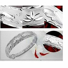Fashion Jewelry s999 silver Beautiful Bracelet Bangle For Women