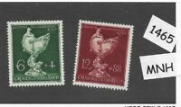 #1465  1944 Complete MNH stamp set / Goldsmiths Society WWII Germany Third Reich