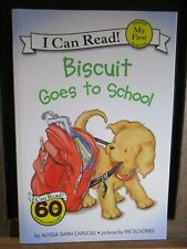My First I Can Read: Biscuit Goes to School by Alyssa Satin Capucilli (2003,...