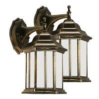 Vintage Wall Sconce Light Fixture Lantern Porch Lamp Porch Patio Outdoor Lights