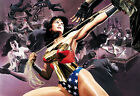 Alex Ross SIGNED Wonder Woman Defender Giclee on Paper Limited Edition of 50