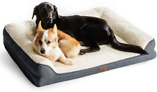 Orthopedic Pet Sofa Beds For Small Medium Large Dogs & Cats 42″x32″x7″ Extra Lar
