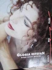 Into The Light Tour Program Book-Gloria Estefan & Miami Sound Machine