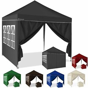 KESSER® 2X Seitenwand für Pavillon 3x3m - Faltpavillon Pop Up klappbar