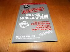 HACKS FOR MINECRAFT Redstone Minecrafters Game Tricks Tips Trick Tip Book NEW