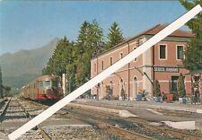CARTOLINA SEDICO BRIBANO BELLUNO VENETO FERROVIA  STAZIONE TRENO STATION TRAIN