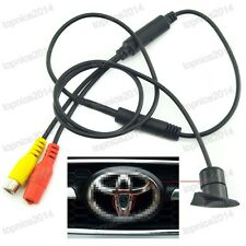 New CCD Vehicle Logo Front View Camera For Toyota