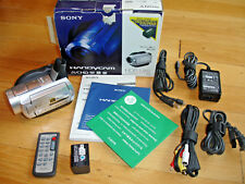 Sony HDR-UX5 High Definition DVD Camcorder Remote Nighshot Software Manual Cable