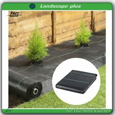 New ListingHeavy Duty Seepage Weed Barrier Fabric Woven Earthmat Ground Cover Landscape