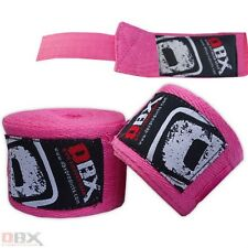 Boxing Hand Wraps Fist Protective Inner Gloves Cotton Bandage Velcro Dbx Fitness
