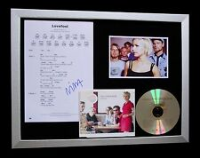 THE CARDIGANS+SIGNED+FRAMED+LOVEFOOL+BAND MOON=100% AUTHENTIC+FAST+GLOBAL SHIP