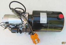 12 VOLT 12V Pompa Idraulica AGGREGATO PER RIBALTABILE di E - Pannello controllo