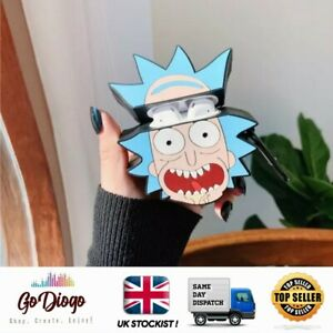 Rick from Rick And Morty Novelty Case For Apple Airpod 1/2  UK STOCKIST SELLER