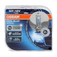Osram H7 Cool Blue Intense 4200K Bianco 12V Lampadina Fari Auto 64210CBI Paio