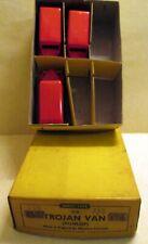 Dinky Toys, 31B Trade Box of 6, 'Trojan Van' Dunlop, 3 only    original