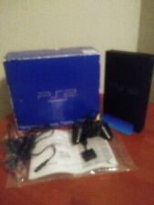 Ps2 in box / Sony PlayStation 2 in box / all chords 2 controllers/ manuel /stand