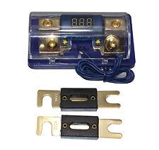A4A Free 2PC 100A ANL Digital Platinum ANL Dist Block 0-4 GA Fuse Holder FH061G
