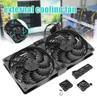 Mute PWM Temperature-Controlled Fan External Water-Cooled Computer Cooling Fan