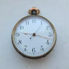 "Longines Rare Vintage Men's Pocket Watch Good Working 1.4 in"""