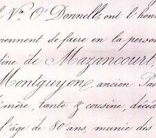 Anne Esther Augustine De Mazancourt De Montguyon 1859