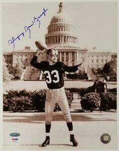 Slinging Sammy Baugh signed 11x14 Photo Washington Redskins ~Tristar PSA Sticker