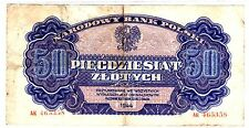 Pologne POLAND Billet 50 ZLOTYCH 1944 P115   BON ETAT