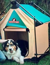Dawg E Tent Lucky Dog Portable Dog House Camping Crate DH22424 up to 60 lbs NEW