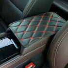 Car Armrest Pads Cover Center Console Box PU Leather Cushion Mat Kit Accessories