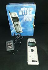 Vintage Audiovox MVX480XL Cell Phone in Original Box Charged and Working!
