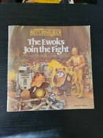 Vintage Star Wars: Ewoks Join the Fight, Return of the Jedi Children's Book 1983