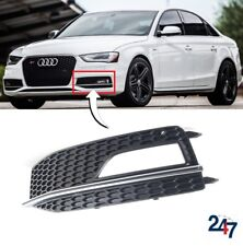 NEW AUDI A4 S4 B8 S LINE 11-15 FRONT BUMPER LOWER FOG LIGHT GRILL COVER LEFT N/S