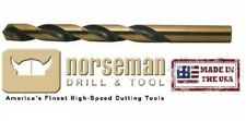 "1/2"" Drill Bit Usa Super Premium High Speed Steel Norseman/Viking 05860"