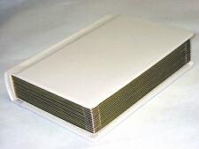 Professional 5x7 ivory gold edged Wedding Album -40 photos (Engraving Available)
