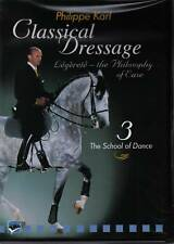 NEW SEALED DVD CLASSICAL DRESSAGE Philippe Karl Vol 3