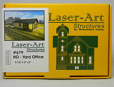 NEW HO Branchline Laser-Art #679 Yard Office Kit