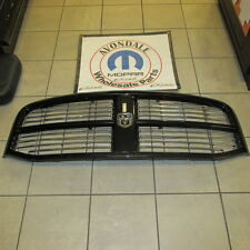 Dodge Ram 1500 2500 3500 Brilliant Black Grille Chrome Inserts Mopar OEM