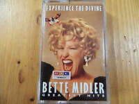 Bette Midler Experience the Divine: Greatest Hits MC / WEA RECORDS RAR!