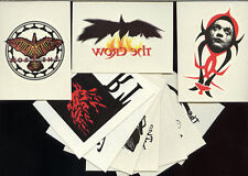 THE CROW: CITY OF ANGELS - Full Ten Card Temporary Tattoo Chase Set