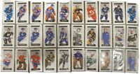 2018-19 UD CHRONOLOGY 32 CARD MINI BASE LOT /60 MULLEN NASLUND VACHON BOURQUE