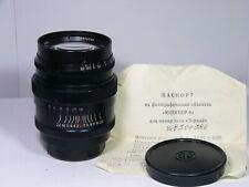 Jupiter-9 2/85mm #8300386 lens for M39 Leica-mount russian sonnar copy