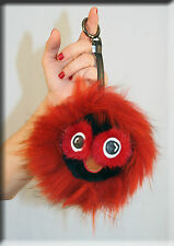 New Red Owl Fur Key Chain- Mitchies Monsters Extra Large Size - Efurs4less